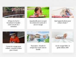 création de site web thème voyage - agence digitale 47.7 Lorient